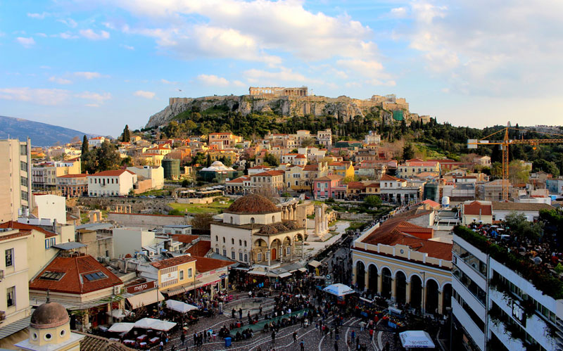 A walking tour through the historical center of Athens - 2 hrs